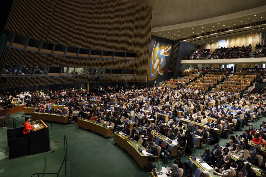 Discurso de abertura da diretora executiva ONU Mulheres na 62ª Sessão da Comissão da ONU sobre a Situação das Mulheres/planeta 50 50 onu mulheres ods noticias igualdade de genero direitosdasmulheres csw