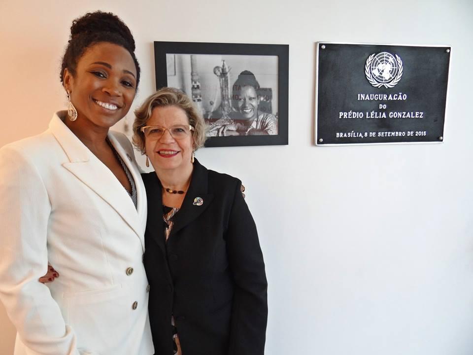 Kenia Maria, defensora dos Direitos das Mulheres Negras, visita ONU Mulheres/planeta 50 50 onu mulheres ods noticias mulheres negras igualdade de genero direitosdasmulheres decada afro