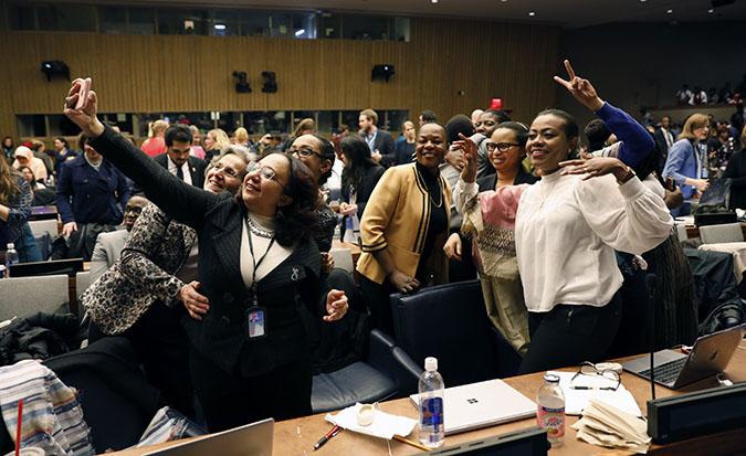 Comunicação é direito essencial para o empoderamento das mulheres, destacam brasileiras sobre tema emergente 'Mulheres e Mídia' na CSW 62/planeta 50 50 onu mulheres ods noticias mulheres rurais mulheres negras igualdade de genero direitosdasmulheres csw