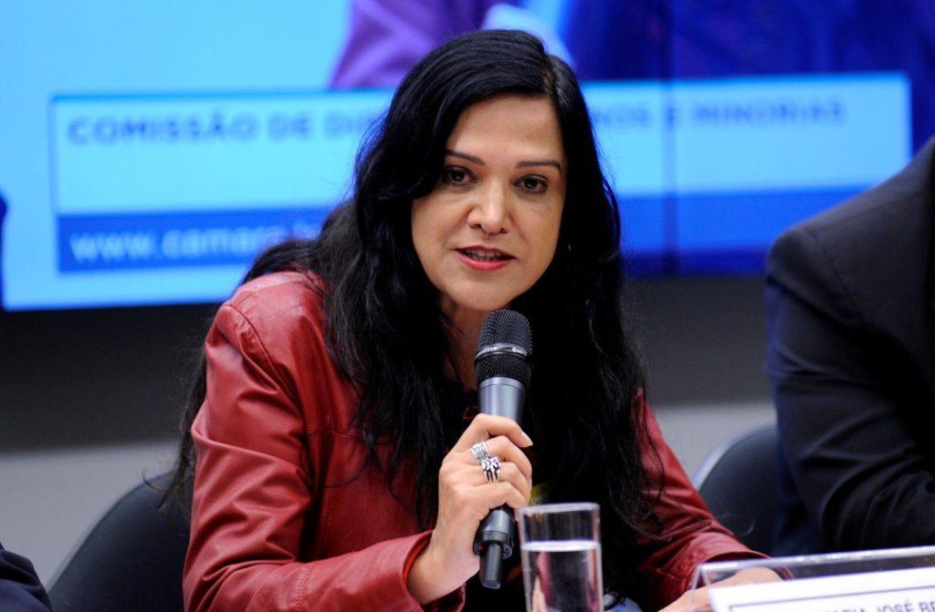 Maria José Braga é presidenta da Federação Nacional dos Jornalistas (Foto: Câmara dos Deputados/Lucio Bernardo Jr)