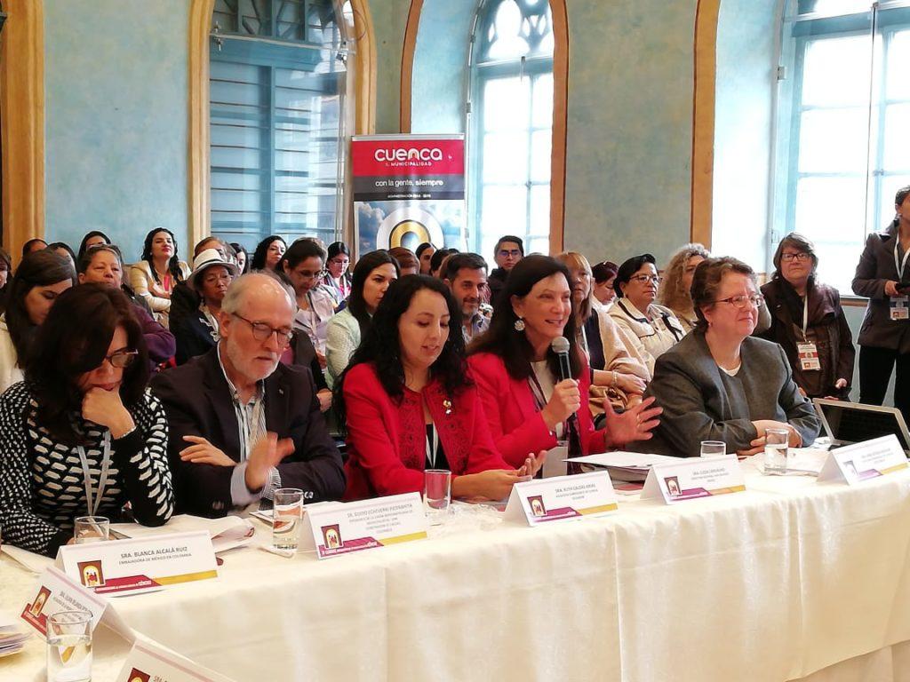 ONU Mulheres Brasil apresenta projeto Cidade 50 50 na IV Cúpula Ibero Americana de Agendas Locais de Gênero/planeta 50 50 participacao politica onu mulheres ods noticias igualdade de genero direitosdasmulheres