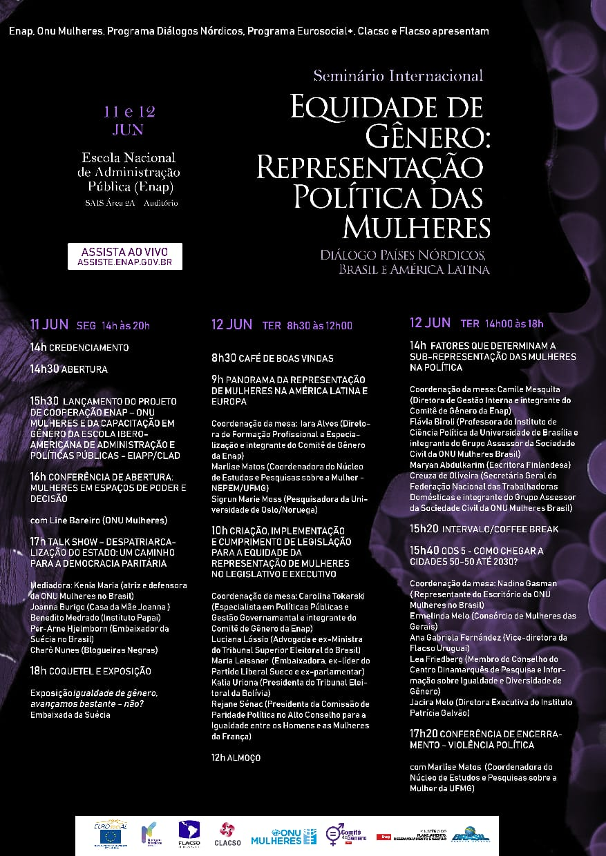 Especialistas latino americanas e de países Nórdicos discutem representação política das mulheres, a partir desta 2ª feira, em Brasília/planeta 50 50 participacao politica onu mulheres ods noticias kenia maria igualdade de genero direitosdasmulheres