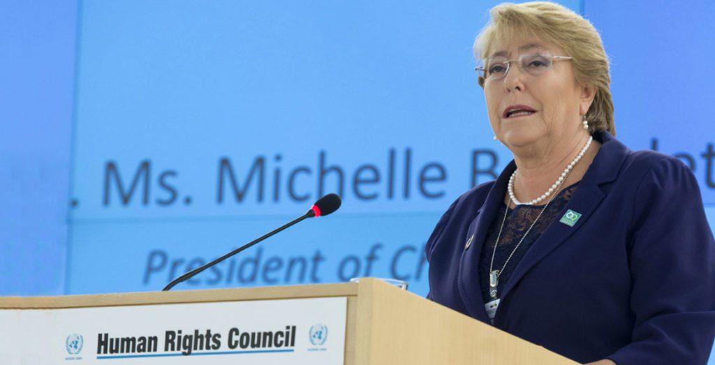 Avanço dos direitos humanos é um 'processo sem fim', diz Bachelet/ods noticias igualdade de genero direitos humanos direitosdasmulheres