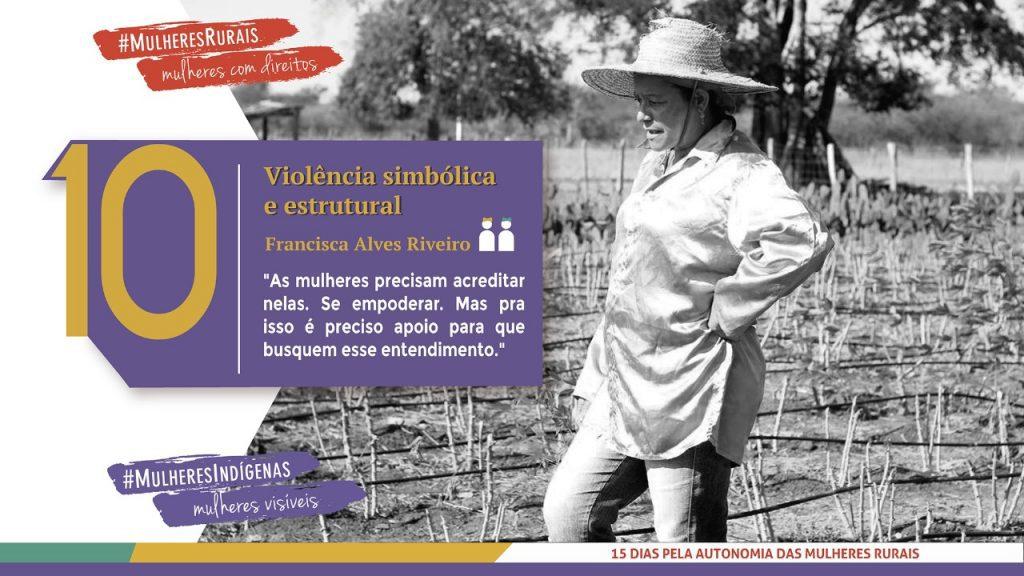 Agricultora do interior da Bahia critica falta de oportunidades para mulheres rurais/noticias mulheres rurais igualdade de genero direitosdasmulheres