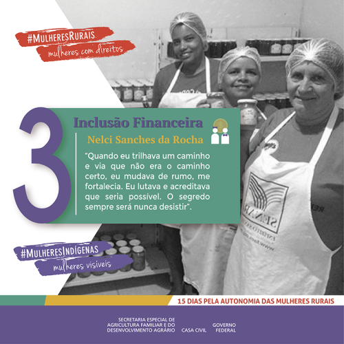 Sete camponesas unidas por um sonho: a inclusão financeira das mulheres/noticias mulheres rurais empoderamento economico