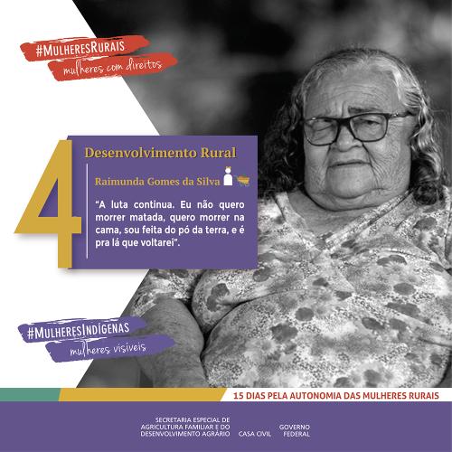 Desenvolvimento Rural: a história de Dona Raimunda, a quebradeira de cocos e de paradigmas/noticias mulheres rurais empoderamento economico