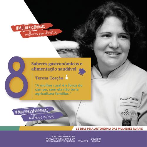 A atuação da mulher no campo impulsiona saberes gastronômicos/mulheres rurais empoderamento economico