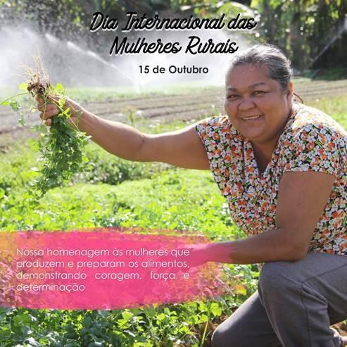 Dia das Mulheres Rurais   agentes essenciais no desenvolvimento da sociedade/ods noticias mulheres rurais