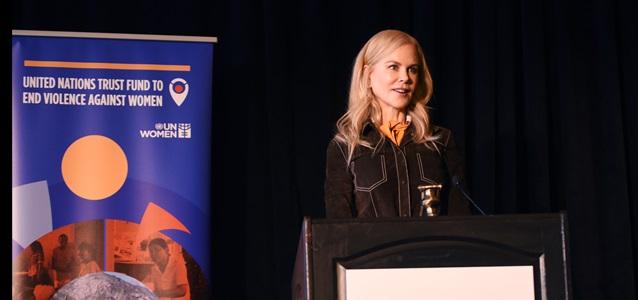 Nicole Kidman, embaixadora da Boa Vontade da ONU Mulheres, sobreviventes e ativistas colocam foco em soluções para acabar com a violência de gênero/violencia contra as mulheres onu mulheres noticias igualdade de genero direitosdasmulheres 16 dias de ativismo