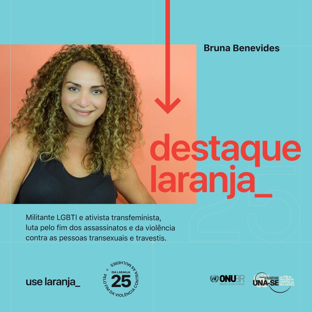 No Dia Laranja, ONU Brasil aborda violência de gênero contra mulheres trans e travestis/noticias dia laranja