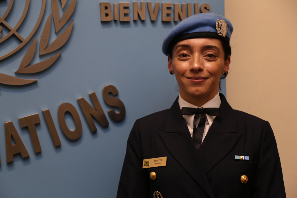 Militar brasileira recebe prêmio da ONU por defender igualdade de gênero/noticias