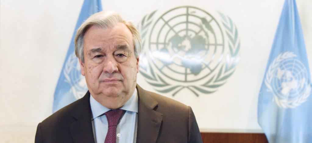 Secretário geral da ONU manifesta solidariedade a moçambicanos em vídeo falado em Português/noticias