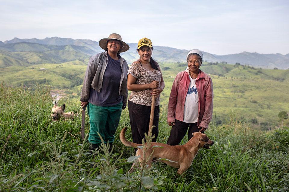 Agricultoras familiares inovam e visibilizam produção de mulheres no campo, experiência brasileira é citada em relatório internacional da ONU Mulheres/onu mulheres ods noticias igualdade de genero empoderamento economico direitos humanos direitosdasmulheres