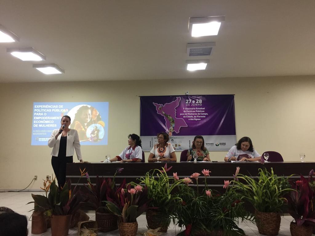 Em Roraima, ONU Mulheres apoia Seminário Estadual de Políticas Públicas/onu mulheres noticias mulheres rurais igualdade de genero direitosdasmulheres acao humanitaria