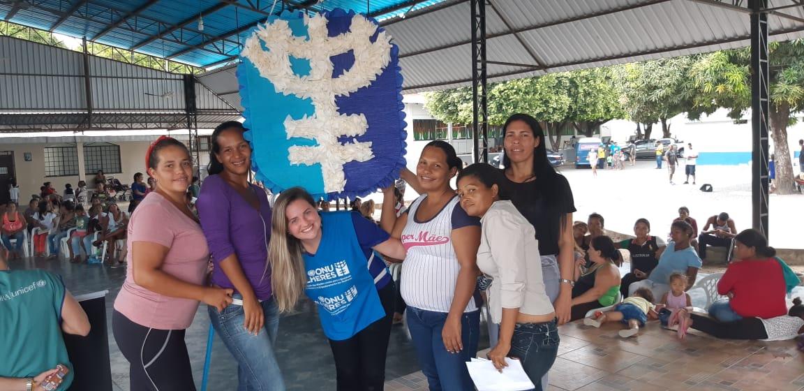 ONU Mulheres prepara equipe de cursos de qualificação do Senac Boa Vista em igualdade de gênero e empoderamento das mulheres/principios de empoderamento das mulheres noticias mulheres refugiadas mulheres migrantes igualdade de genero empoderamento economico direitos humanos direitosdasmulheres acao humanitaria