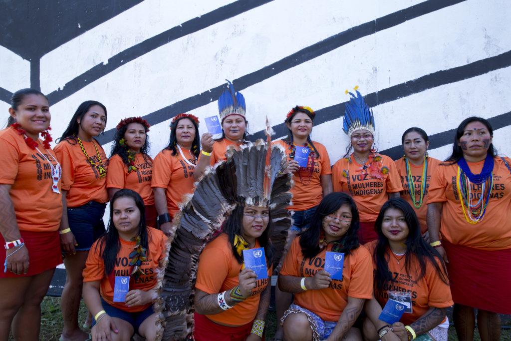 Declaração da ONU Mulheres sobre o Dia Internacional dos Povos Indígenas/onu mulheres ods noticias mulheres indigenas igualdade de genero direitos humanos direitosdasmulheres