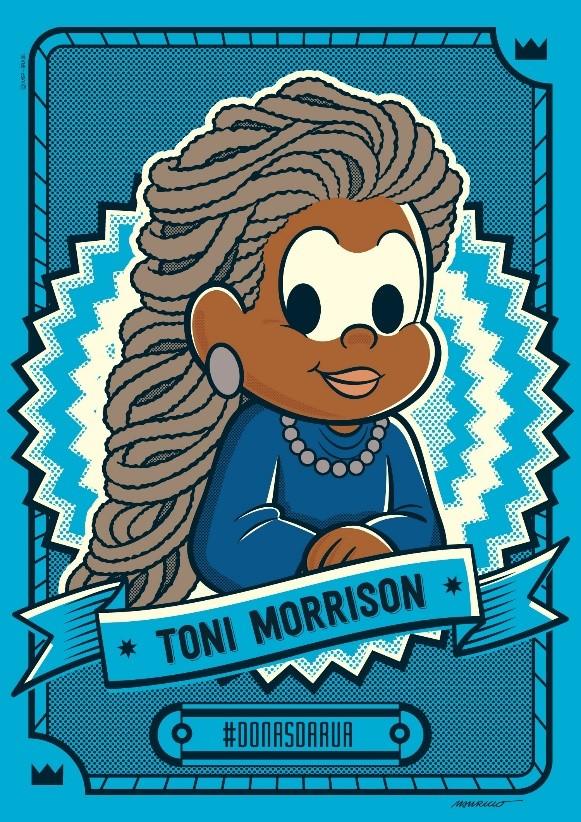 Toni Morrison é homenageada pela Turma da Mônica/vidas negras principios de empoderamento das mulheres noticias mulheres negras meninas donas da rua decada afro