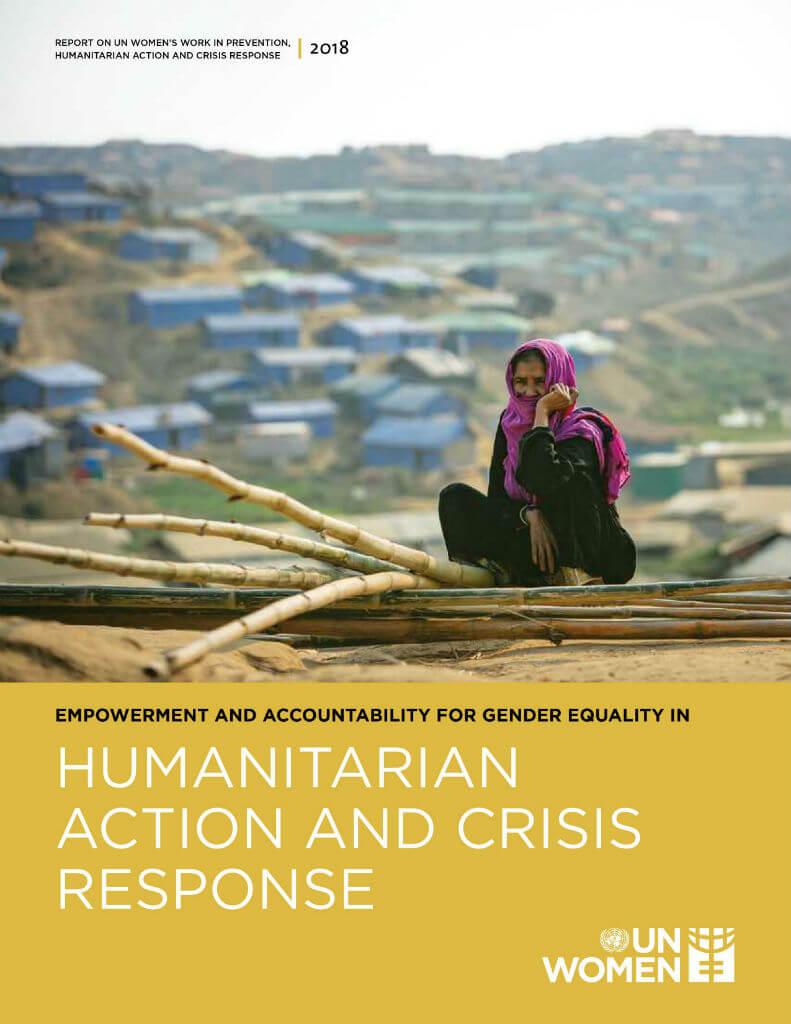 Em 2018, ONU Mulheres e parcerias prestaram apoio humanitário a 235 mil mulheres e meninas em 33 países/violencia contra as mulheres principios de empoderamento das mulheres noticias mulheres refugiadas meninas direitos humanos direitosdasmulheres acao humanitaria