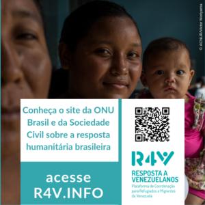 ONU e sociedade civil lançam plataforma de dados sobre venezuelanos e venezuelanas no Brasil/noticias direitos humanos acao humanitaria