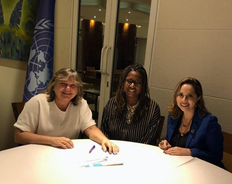 ONU Mulheres e UNOPS assinam acordo para fortalecer atuação conjunta no Brasil/