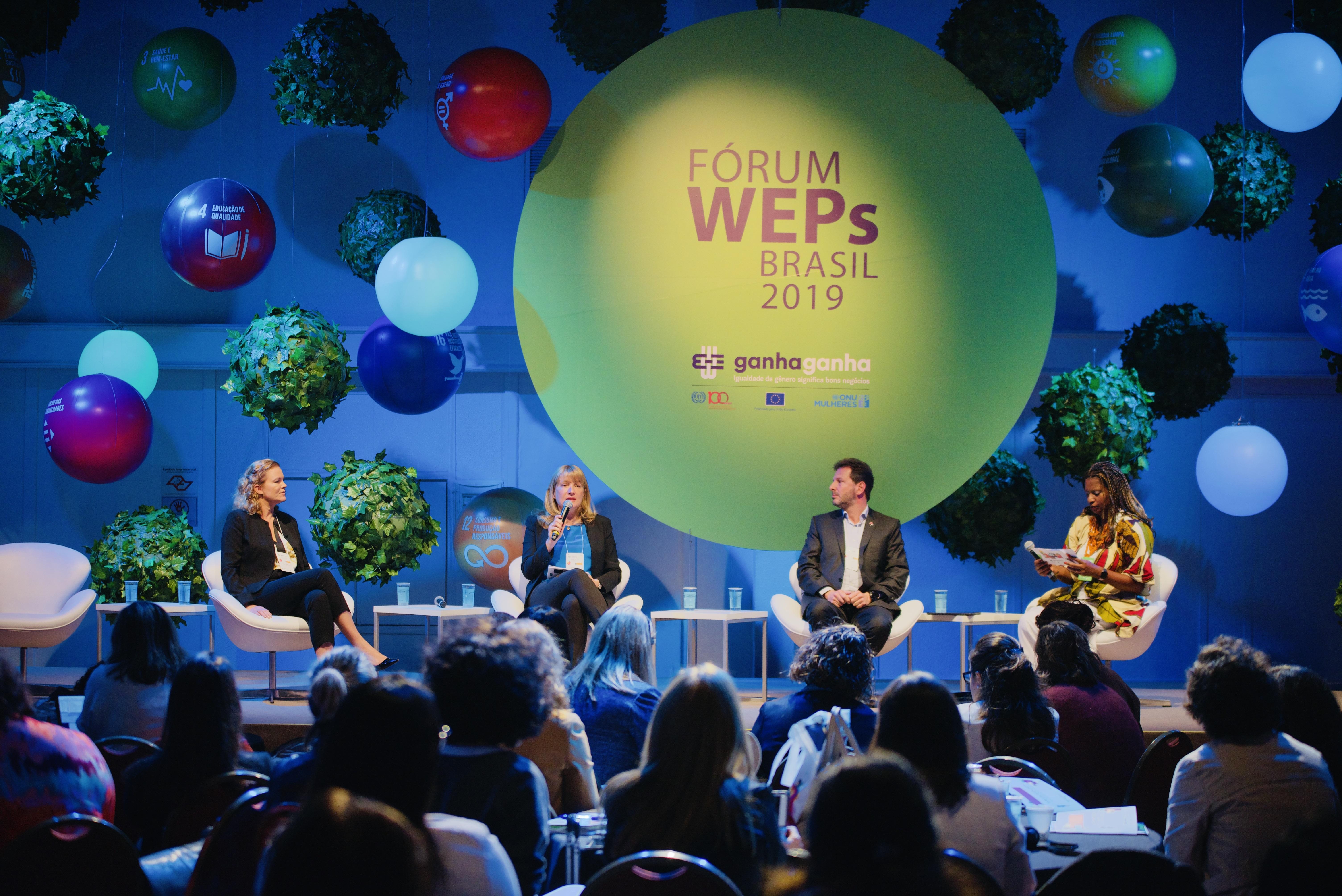 ONU Mulheres, OIT e União Europeia fortalecem parceria com setor empresarial pela igualdade de gênero e debatem financiamento inovador/
