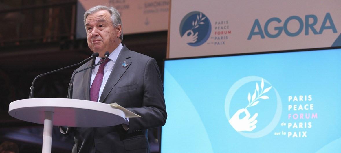 Guterres: multilateralismo deve resistir aos desafios de hoje e do futuro/