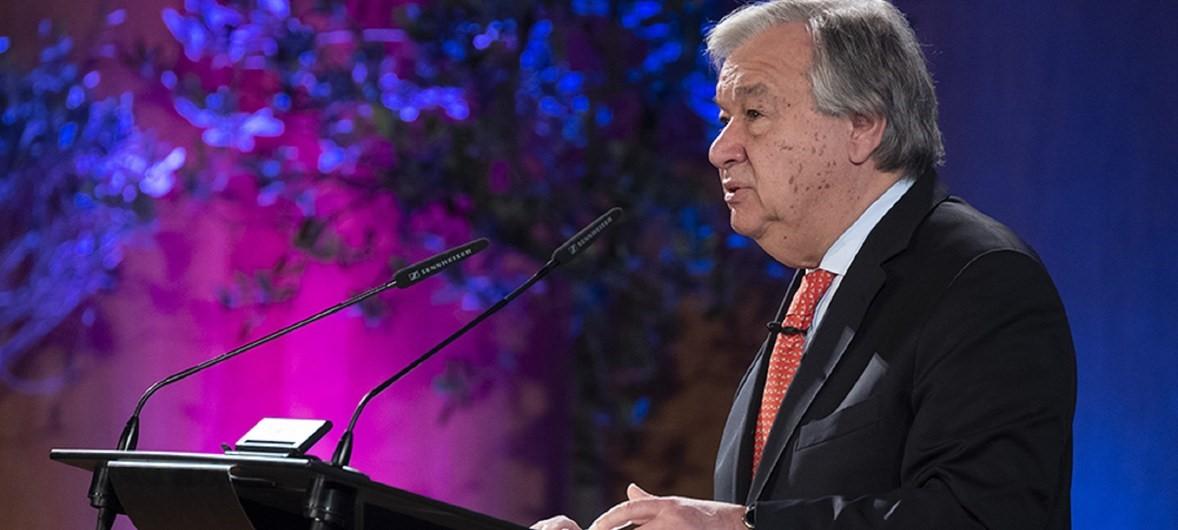 Progresso rumo ao desenvolvimento sustentável está fora dos eixos, diz secretário geral da ONU/ods noticias