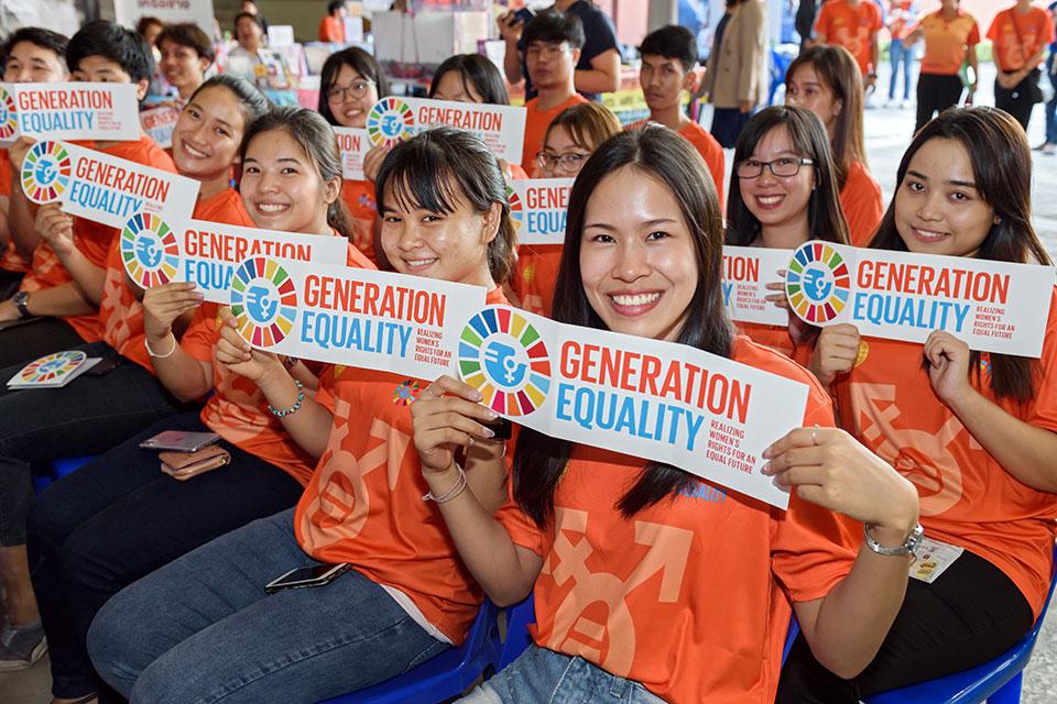 """ONU Mulheres anuncia o tema do Dia Internacional das Mulheres para 2020: """"Eu sou a Geração Igualdade: concretizar os direitos das mulheres""""/onu mulheres ods igualdade de genero direitos humanos direitosdasmulheres"""