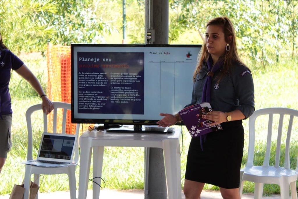 ONU Mulheres fará oficinas para escoteiras e escoteiros no 16º Jamboree Interamericano/