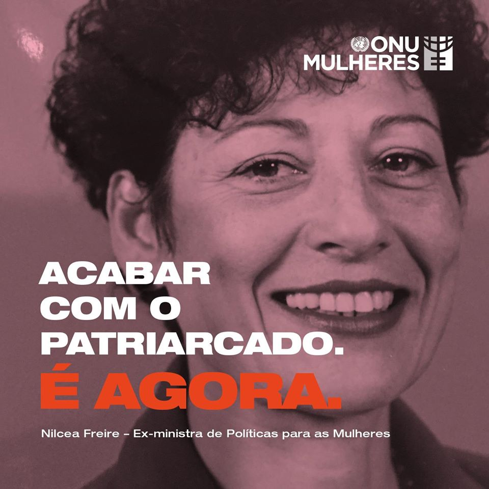 Nota da ONU Mulheres Brasil sobre o falecimento da ex ministra Nilcéa Freire/planeta 50 50 onu mulheres ods noticias igualdade de genero direitosdasmulheres