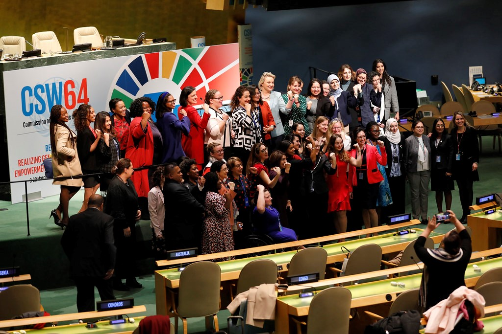 Estados Membros da ONU concordam em implementar integralmente a Declaração de Pequim sobre igualdade de gênero e eliminar lacunas que impedem os direitos das mulheres/phumzile mlambo ngcuka noticias igualdade de genero diretoria executiva csw