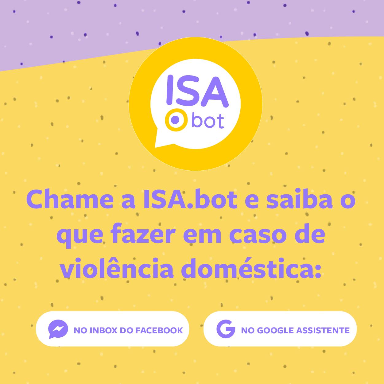 Com apoio da ONU Mulheres, Isa Bot ganha novos conteúdos para enfrentamento da violência doméstica na pandemia Covid 19/violencia contra as mulheres noticias covid19