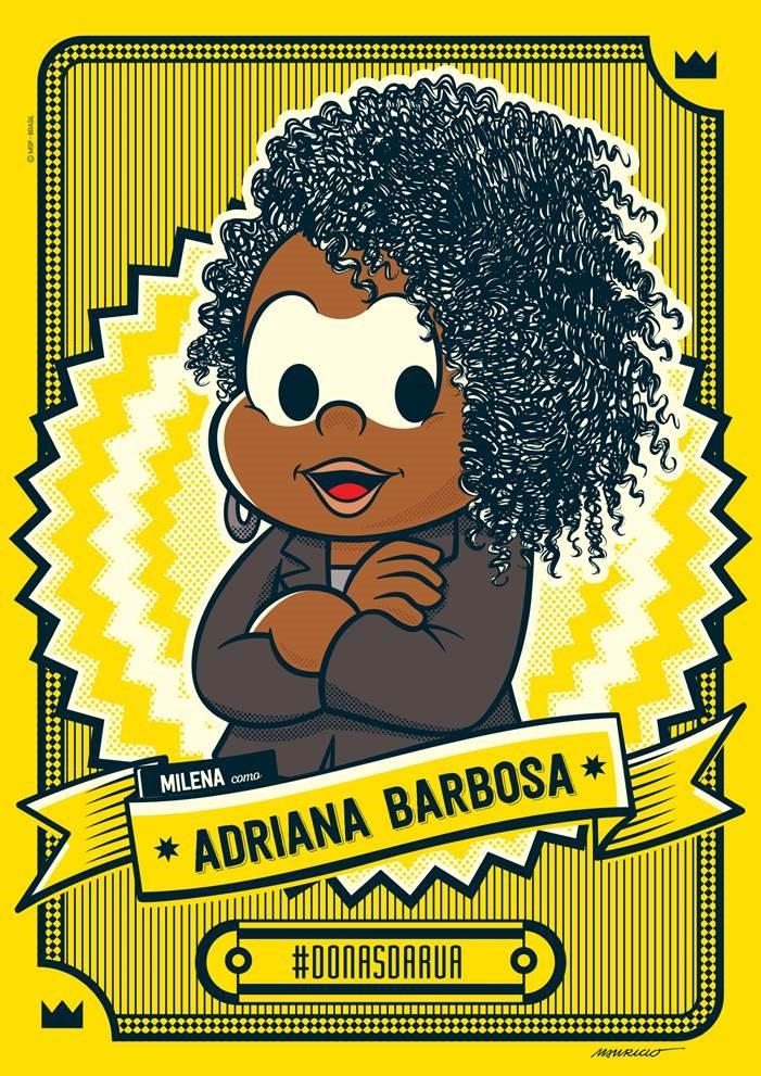 No Dia Internacional da Mulher Afro latino americana, Afro caribenha e da Diáspora, Adriana Barbosa é homenageada pela Turma da Mônica/onu mulheres noticias mulheres negras igualdade de genero