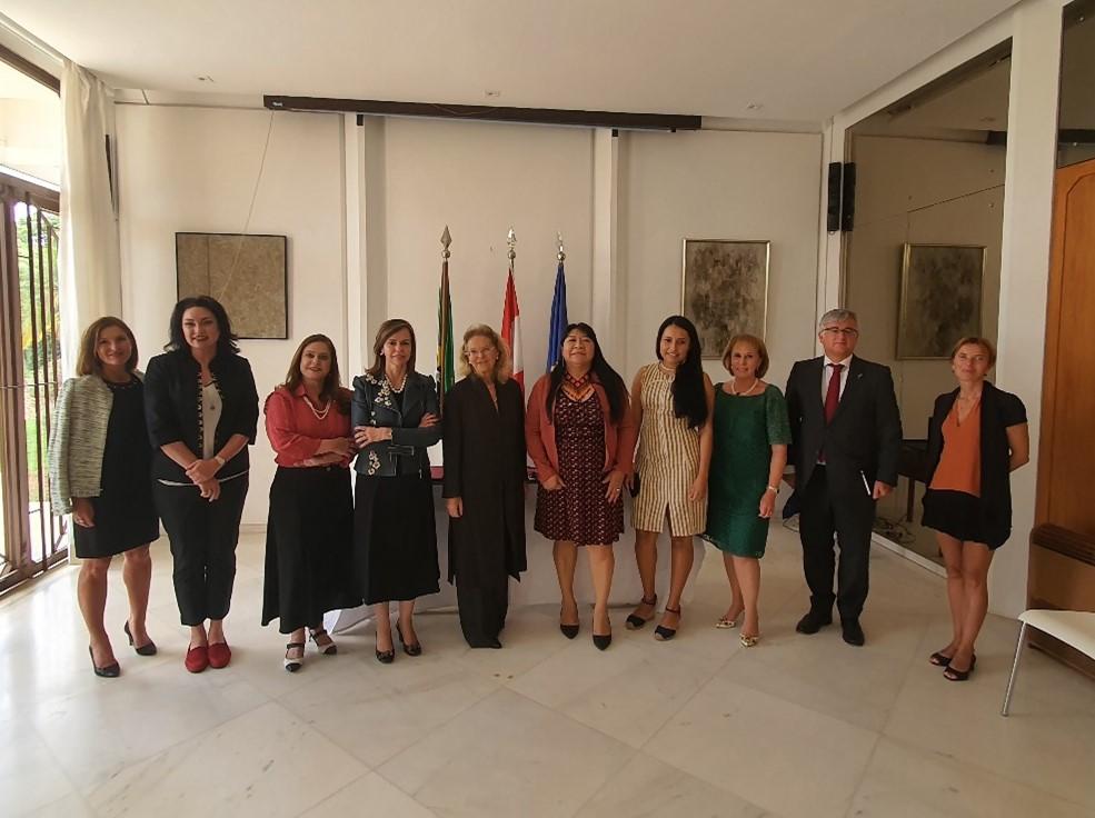 ONU Mulheres e Embaixada da Áustria firmam cooperação em apoio aos direitos das mulheres indígenas/onu mulheres ods noticias