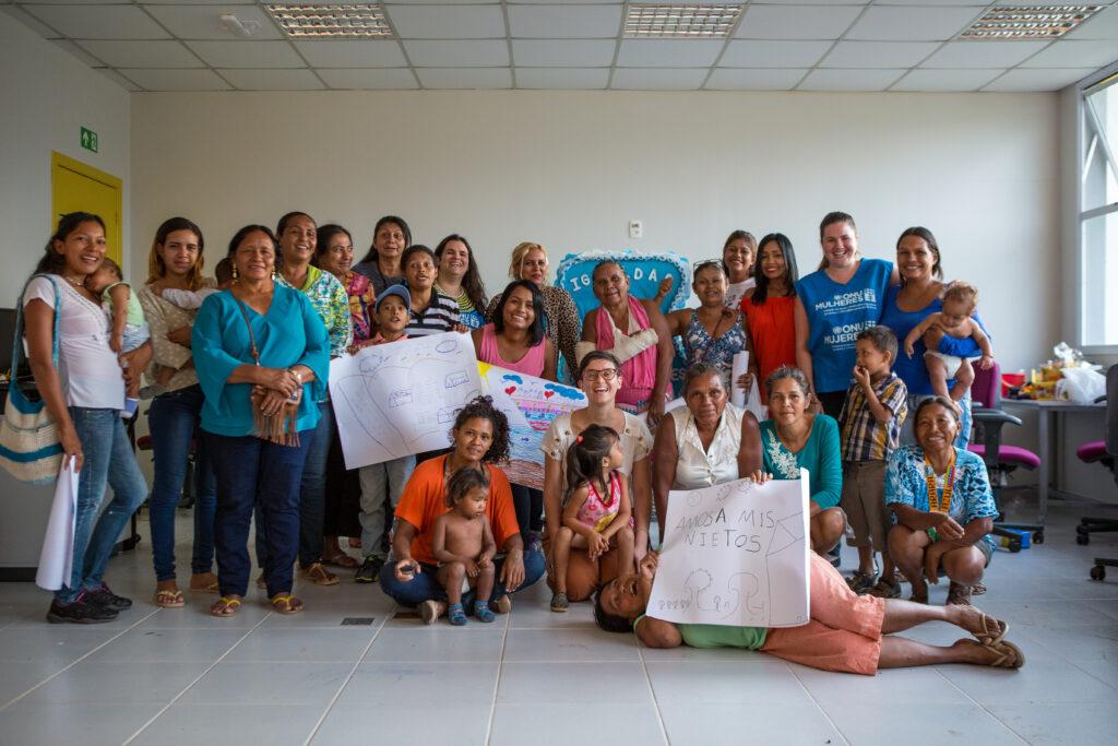 ONU Mulheres defende prioridade a meninas e mulheres em resposta humanitária no Brasil/noticias mulheres refugiadas mulheres migrantes igualdade de genero direitos humanos direitosdasmulheres
