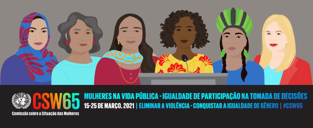Maior encontro da ONU sobre os direitos das mulheres apela ao aumento da liderança das mulheres na vida pública às vésperas do Fórum de Igualdade de Geração de 2021/onu mulheres noticias igualdade de genero geracao igualdade csw