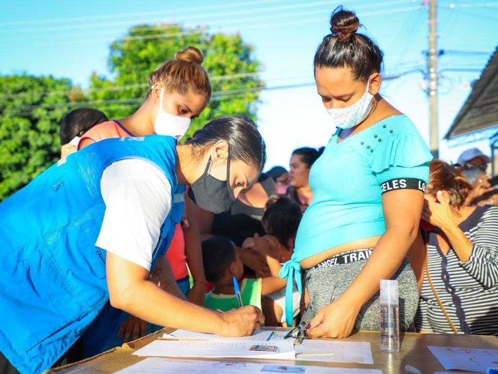 Em meio à pandemia, agências da ONU intensificam ações voltadas à saúde de refugiadas e migrantes venezuelanas em Roraima/ods noticias mulheres refugiadas mulheres migrantes geracao igualdade direitos humanos covid19