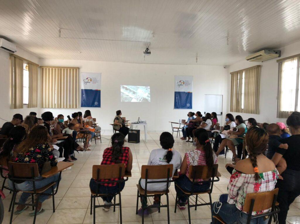 Em Roraima, a ONU, poder público e sociedade civil promovem informação, cuidado e proteção para refugiadas e migrantes/ods noticias mulheres refugiadas mulheres migrantes geracao igualdade direitos humanos covid19