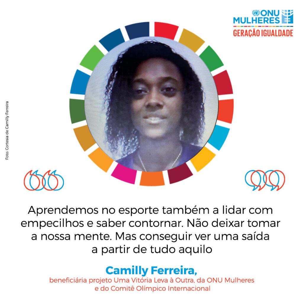Brasileira colabora para chamado do Fórum Geracão Igualdade ao empoderamento de mulheres e meninas no esporte/noticias mulheres no esporte igualdade de genero geracao igualdade direitosdasmulheres